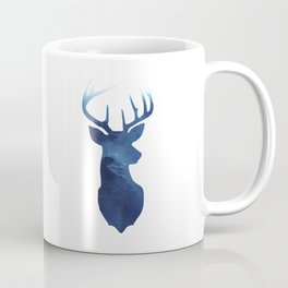 Stag + Blue Coffee Mug