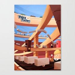 The Voice Factory Canvas Print