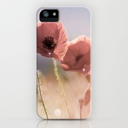 #Pink #Poppie #fine #art iPhone Case