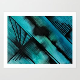 Diagonals (1) Art Print