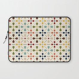 Vintage Daisy Pattern, Mid Century Modern Laptop Sleeve