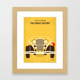 No206 My The Great Gatsby mmp Framed Art Print