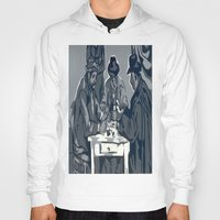 poker Hoodies featuring Poker Game by Kasey Jane