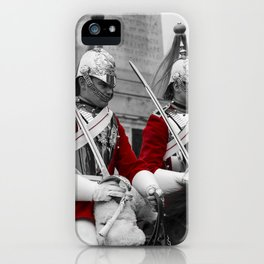Household Cavalry Changing Of The Guard iPhone Case