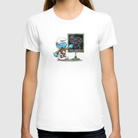 attack on titan T-shirts featuring Attack on Titan Smurf Edition by Purrdemonium