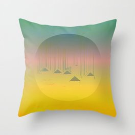 Archipelago 7 Islands / 19-01-17 Throw Pillow