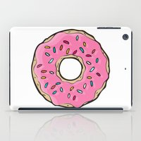 doughnut iPad Cases featuring Doughnut by Sara Eshak