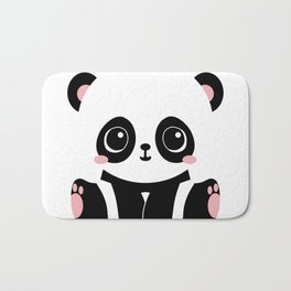 Cute Baby Panda Bath Mat