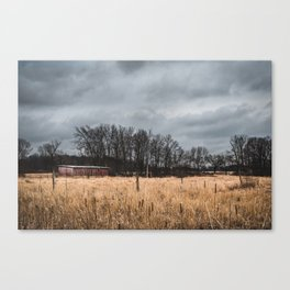Just a Wisconsin Landscape Canvas Print