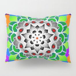 Party mandala Pillow Sham