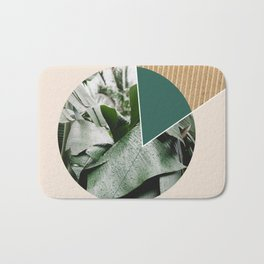 Tropical & Geometry Bath Mat