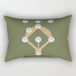 Burns All Star Rectangular Pillow