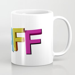 Colorful STAFF Coffee Mug