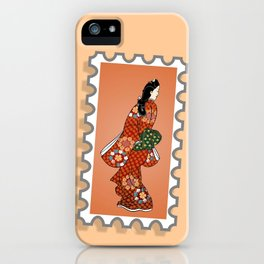 Beauty looking back. iPhone Case