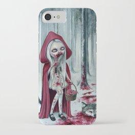 Little dead riding hood iPhone Case