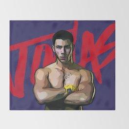 Nick Jonas Throw Blanket