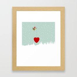 Christmas landscape2 Framed Art Print