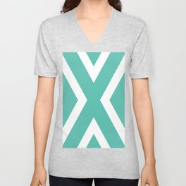 To the center Unisex V-Neck