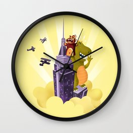 The puppeteer Wall Clock