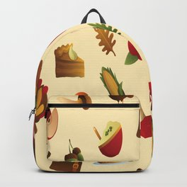 THANKSGIVING ELEMENTS PATTERN Backpack