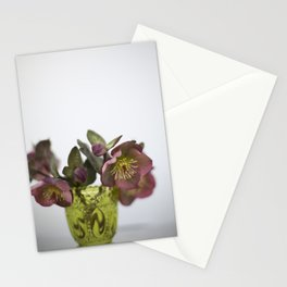 Purple Hellebore Stationery Cards