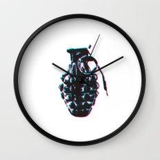 Hand Grenade Wall Clock