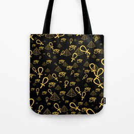 Kemetic Print Tote Bag