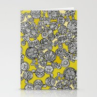 circles Stationery Cards featuring Circles by Valentina Harper