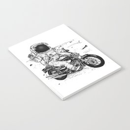 Moon Biker Notebook