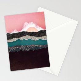 Champagne Sky Stationery Cards