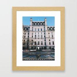 city hall, philly Framed Art Print
