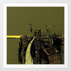 Flyover Art Print