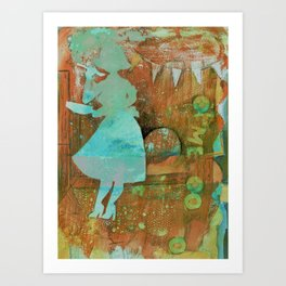 June Cleaver can throw a party Art Print