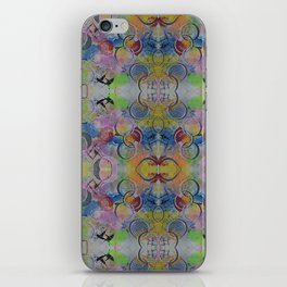 Orbs of Silence iPhone Skin