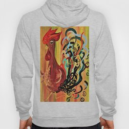 Curly Rooster Hoody