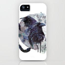 Full Moon Fever Dreams Of Velvet Ravens iPhone Case