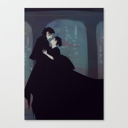 Reylo Wuthering Heights Canvas Print