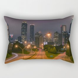 Atlanta, Early Morning Rectangular Pillow