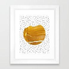 Stay Gold #society6 #decor #buyart Framed Art Print