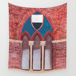 Finestra a Siena Wall Tapestry