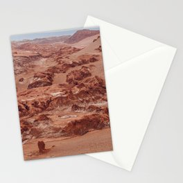 Valle de la Luna, Chile Stationery Cards