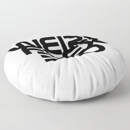 weird flex bro Floor Pillow