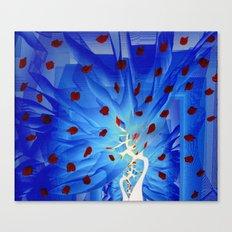 crystal world Canvas Print