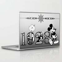 mickey Laptop & iPad Skins featuring Mickey by Small Worlds