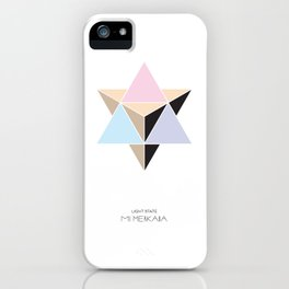 MI MERKABA - Light State iPhone Case