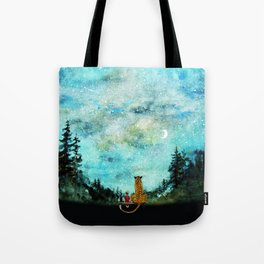 Calvin And Hobbes Tote Bag