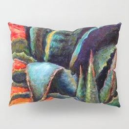 Southwest-western Style Desert Agave in Sunrise Pillow Sham