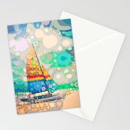 Siesta Key, FL - Sailing Stationery Cards