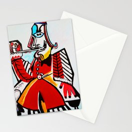 THE MUSKETEER Stationery Cards