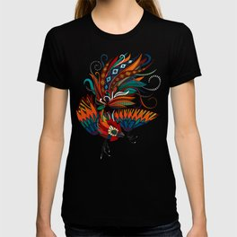 rooster ink green T-shirt